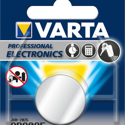 Varta Electronic Battery CR 2025 3 Volt Lithium