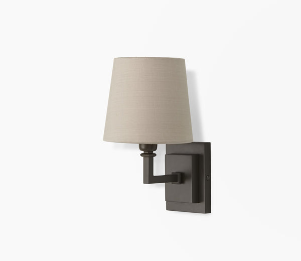 parker wall light with drum shade master