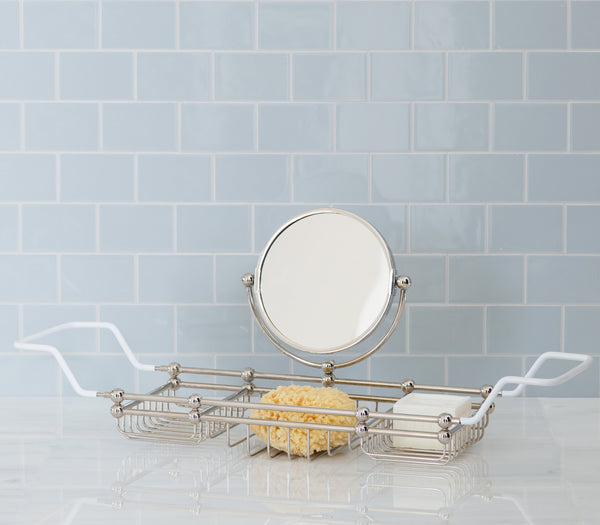 bath rack with mirror master