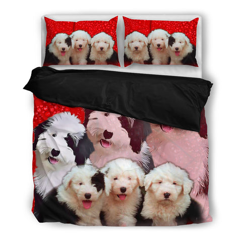 Old English Sheepdog Bedding Set