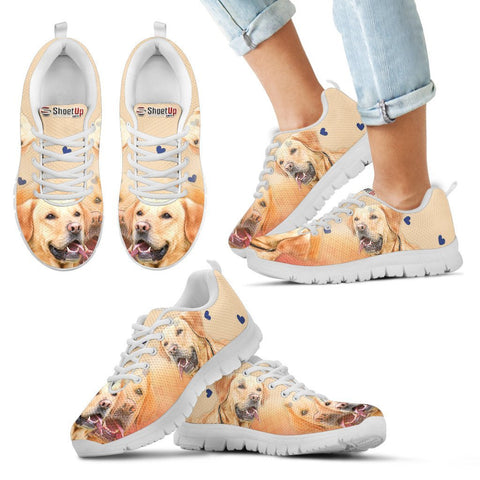 Labrador Retriever Print Running Shoes For Kids