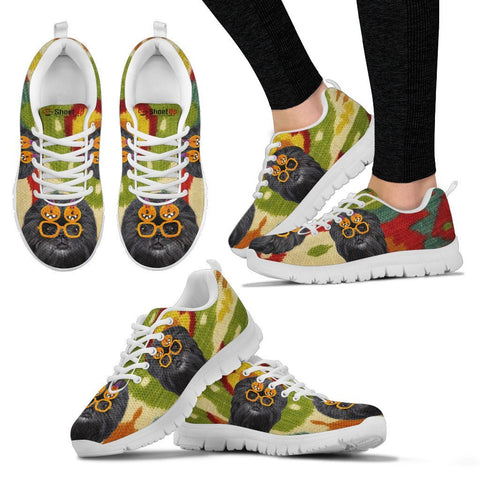 Affenpinscher Halloween Print Running Shoes For Women