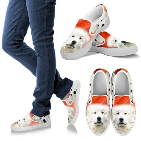 Great Pyrenees Print Slip Ons For Women Express Shipping