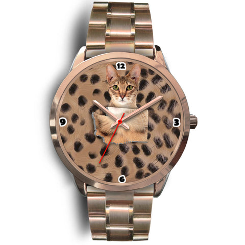 Savannah Cat Washington Christmas Special Wrist Watch