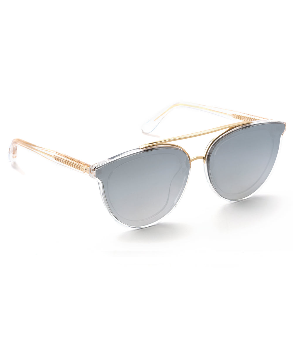 CLIO NYLON | Crystal 24K handcrafted acetate sunglasses