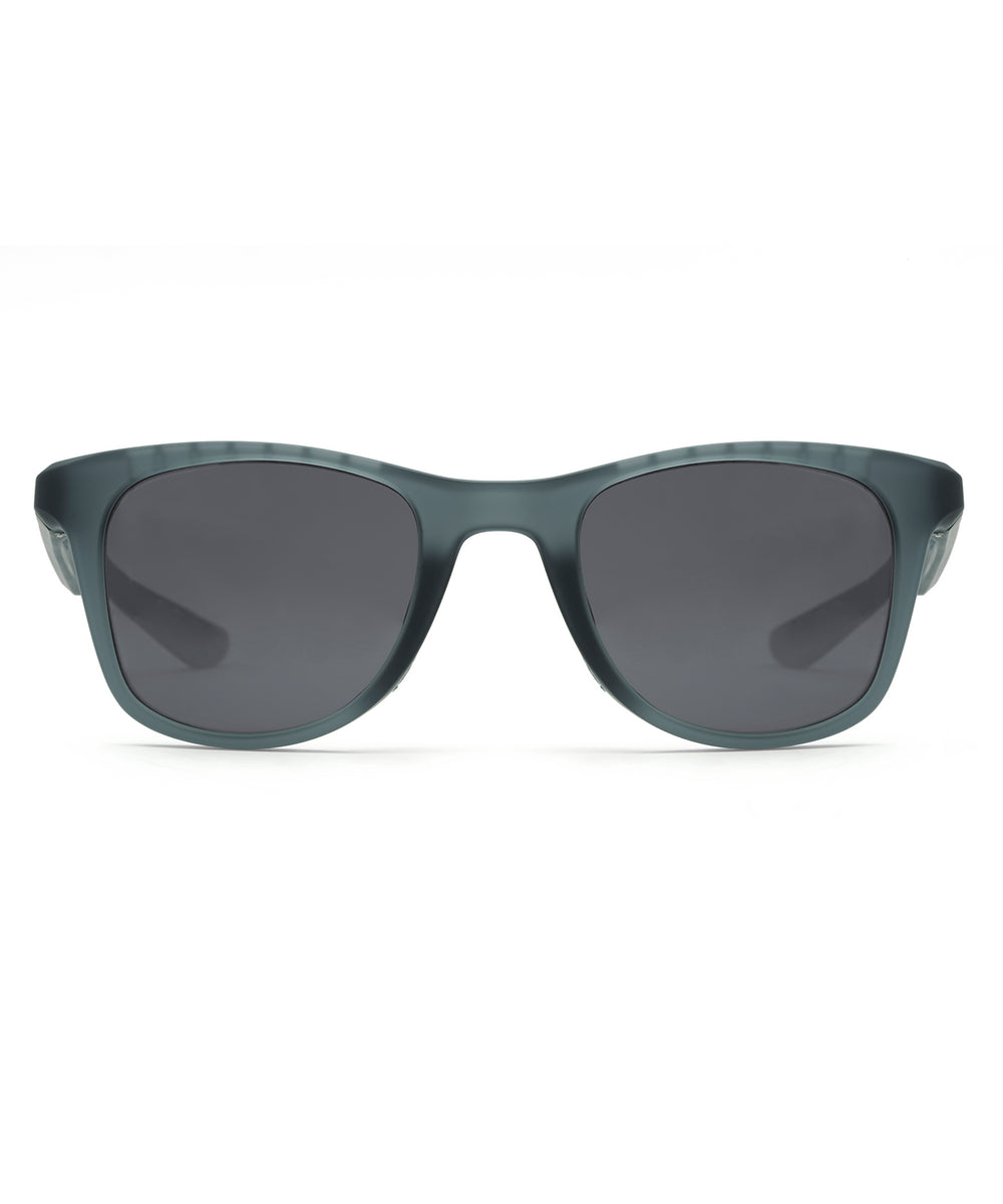 EMMETT | Matte Ice Polarized Hand-Painted, Bio-Plastic Sunglasses