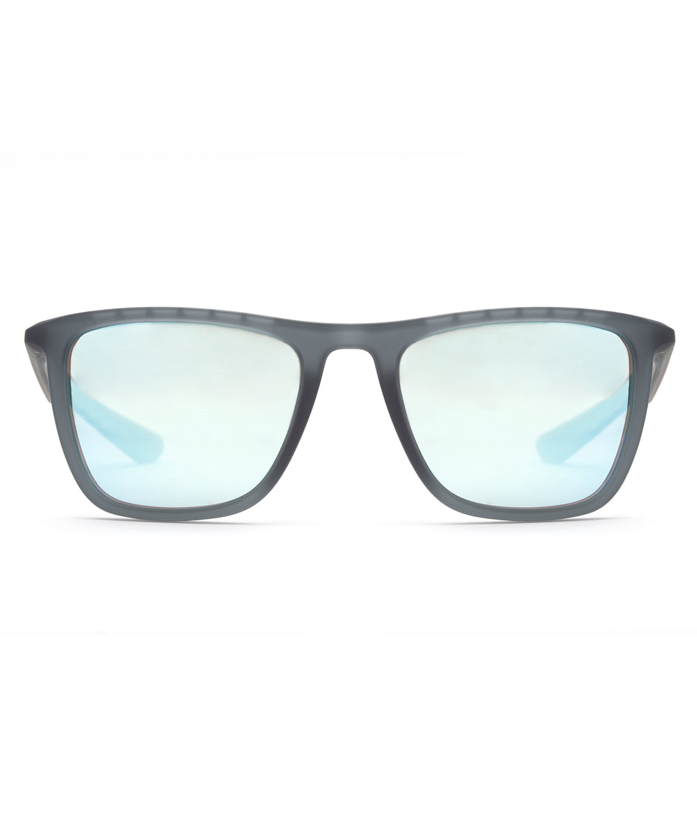 LABORDE | Matte Ice Mirror Polarized Hand-Painted, Bio-Plastic Sunglasses