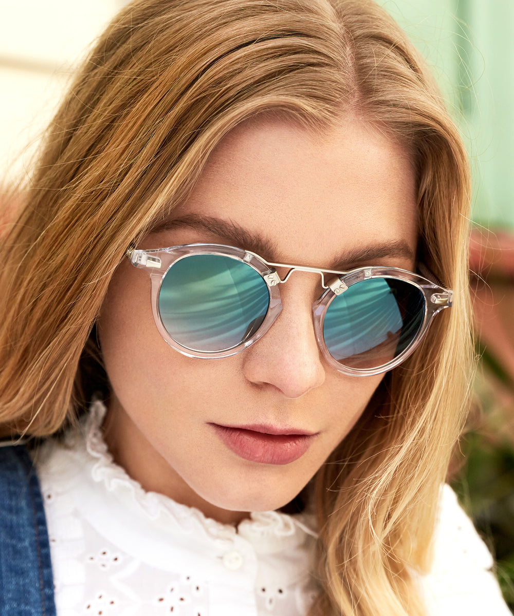 St. Louis Crystal - handcrafted acetate eyewear | Womens