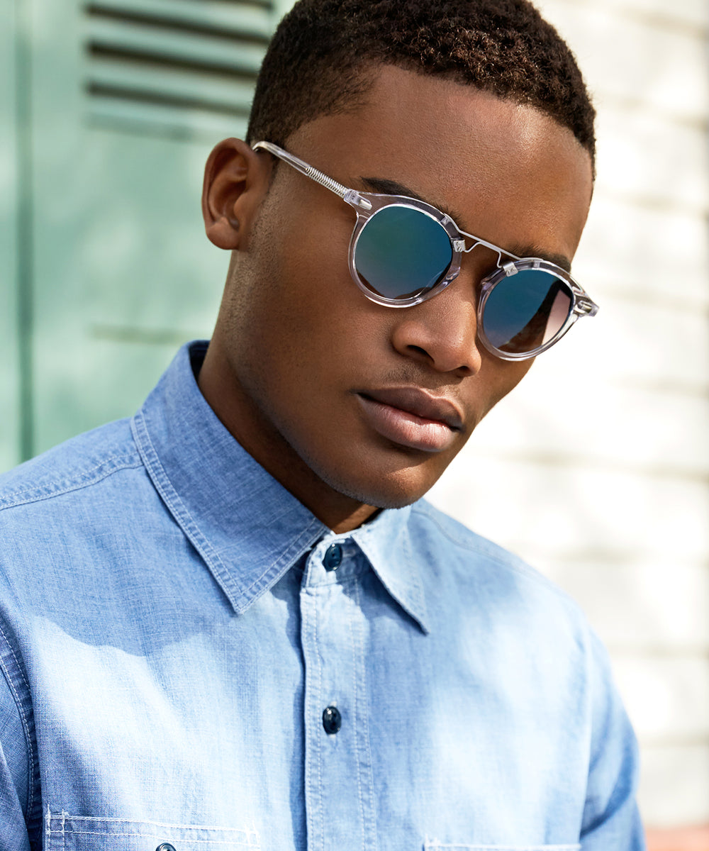 St. Louis Crystal - handcrafted acetate eyewear | Mens | Featured Model
