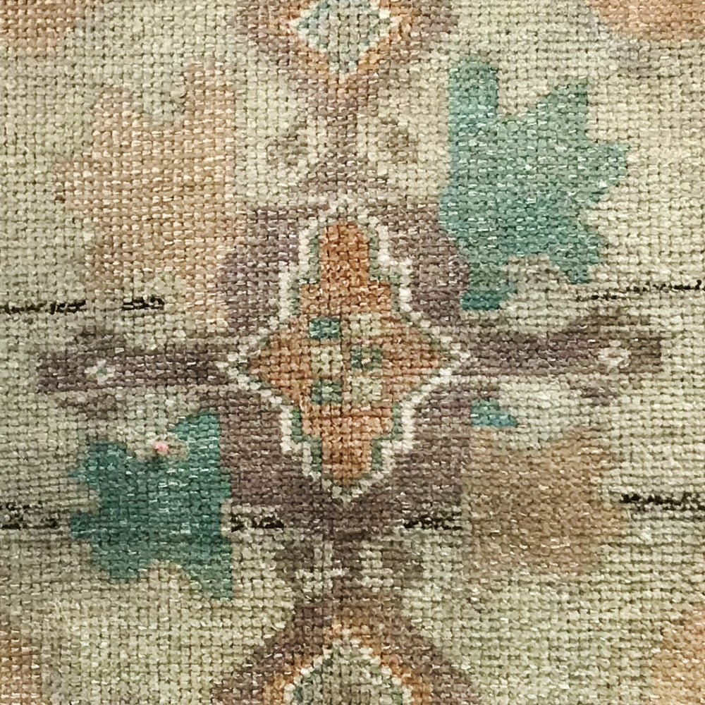 Antique Seafoam Oushak Mat // CLOTH & KIND