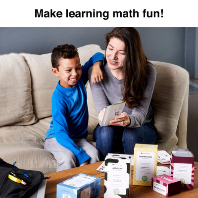 Make learning fun with Think Tank Scholar addition flash card math bundle!