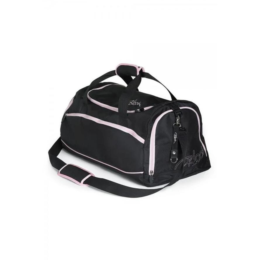 Bloch - Ballet Duffel Bag-Bags-Bloch-Black/Pink-That's Entertainment Dancewear