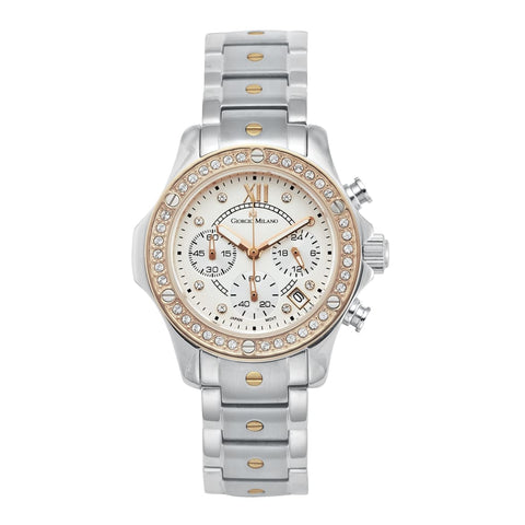 CLARA (Silver/Rose Gold) Giorgio Milano Watches