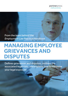 Managing Employee Grievances and Disputes