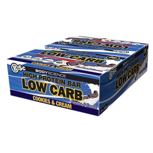 BSC PROTEIN BARS BOX