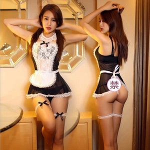 Maid Uniform Costumes  Lingerie