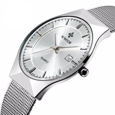 New Top Luxury Ultra Thin Stainless Steel watches