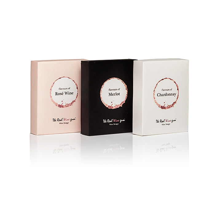 Vinoos - The Real Wine Gums - Trio Gift Set - Merlot, Chardonnay & Rose - Beyond Living