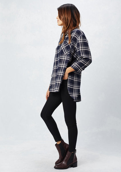 Flannel Plaid Top