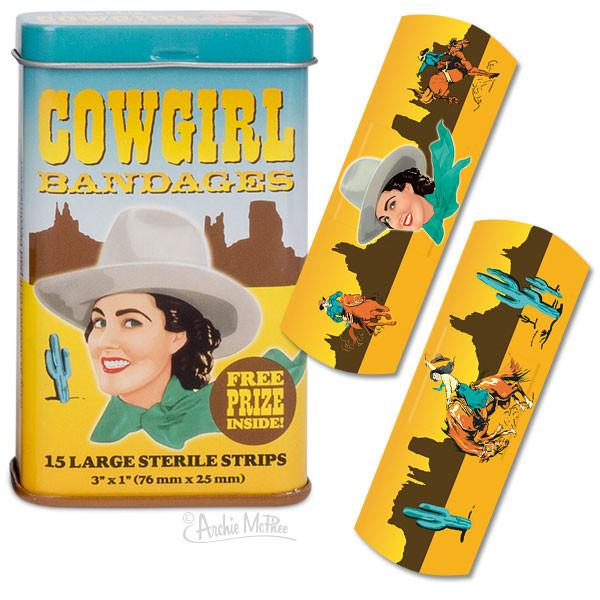 Cowgirl Band-Aids