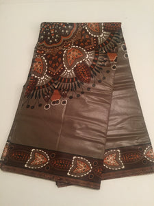 Dashiki Prints - Beige and Brown Medallion