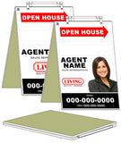 Living Realty - Sandwich Boards