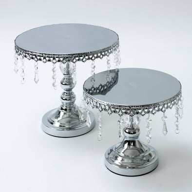 Luxurious Crystal Round Cake Stand