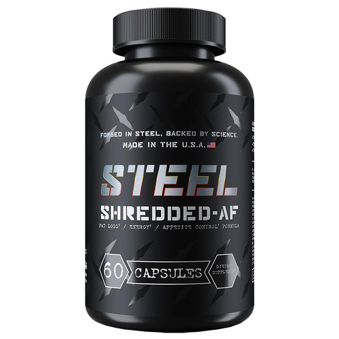 Steel Supplements Shredded-AF 60 Capsules