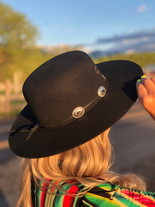 Charlie 1 Horse Hat - Stagecoach (Black)