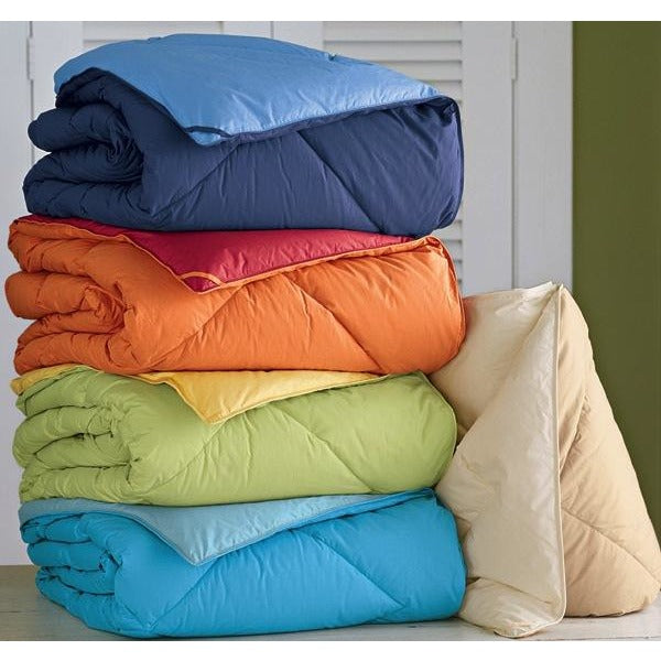OVER FILLED WINTER REVERSIBLE COMFORTER WITH MATCHING SHAMS