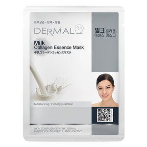 DERMAL Milk Collagen Essence Mask 10 Pieces
