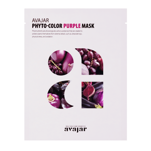 AVAJAR PHYTO-COLOR PURPLE MASK (10EA)