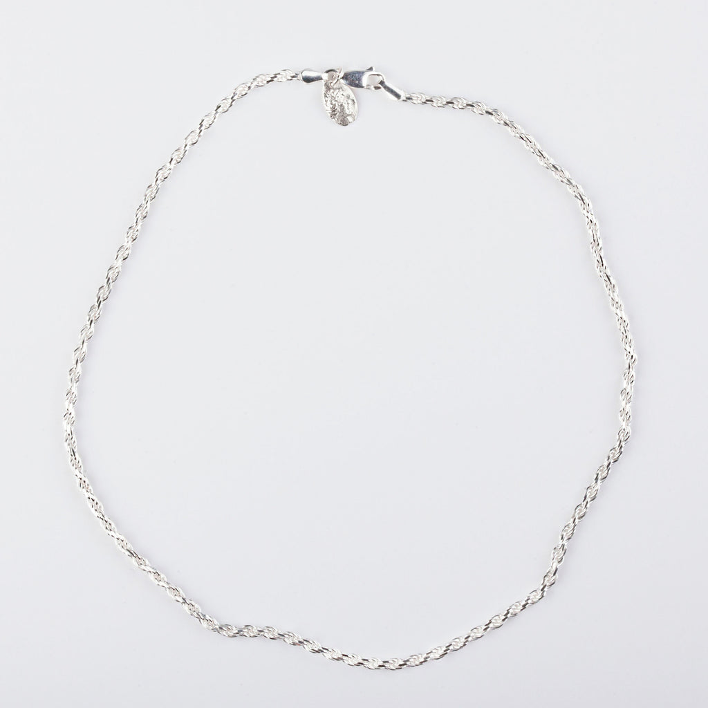 Twisted Chain - Silver