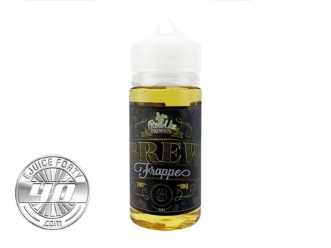 Brew Frappe E Liquid 100mL by Juice Roll-Upz