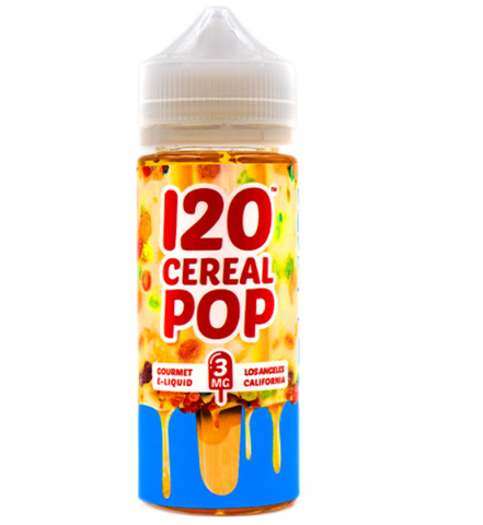 120 Cereal Pop - Mad Hatter Juice 120ml