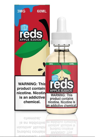 Red's Apple ICED E Juice by 7 Daze 60ml