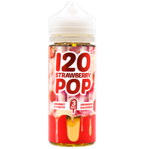 120 Strawberry Pop - Mad Hatter Juice 120ml