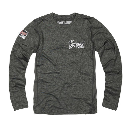Ladies Performance LS - Gray - Angler's Choice Marine