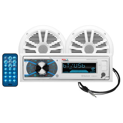 MCK632WB.6 Mechless Marine Stereo Package with Bluetooth® - Angler's Choice Marine