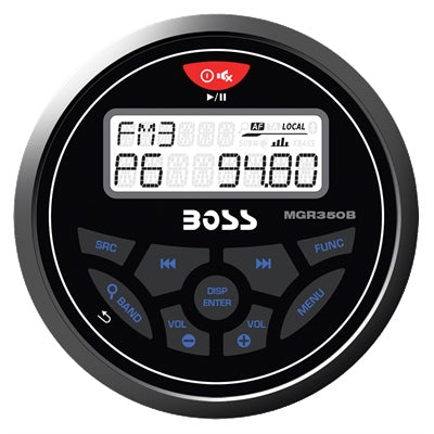 In-Dash Gage MECH-LESS Multimedia Player - Angler's Choice Marine