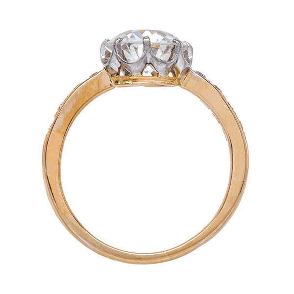 Beautiful Two Tone Solitaire Ring | Ashcroft from Trumpet & Horn