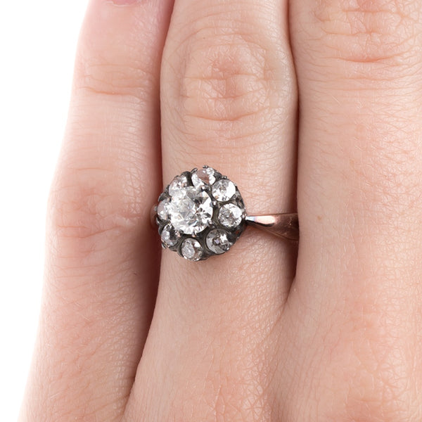 Victorian Era Cluster Ring | Bloomsbury from Trumpet & Horn