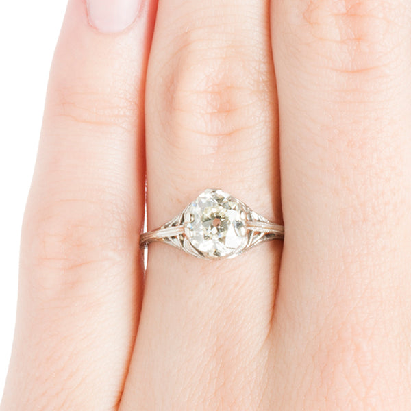Vintage Edwardian Ring | Vintage Engagement Ring