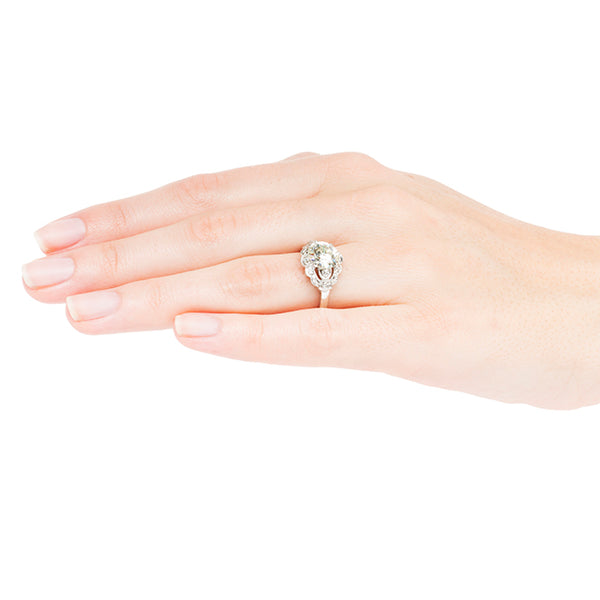 hudson ring on finger