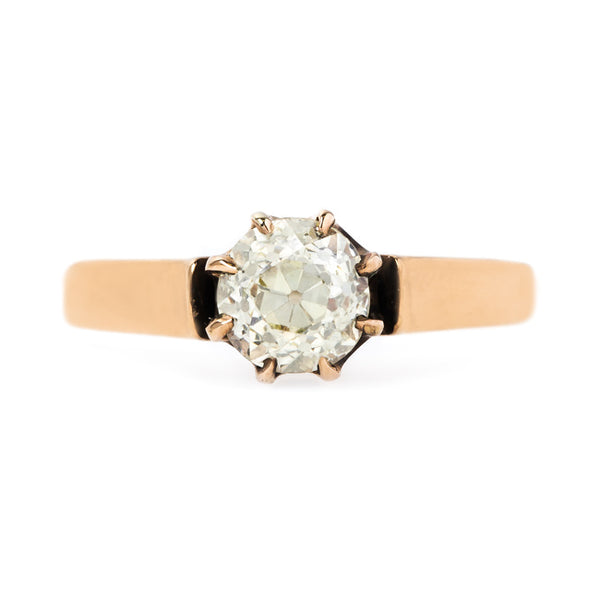 Warm Diamond Solitaire Engagement Ring | Syracuse from Trumpet & Horn