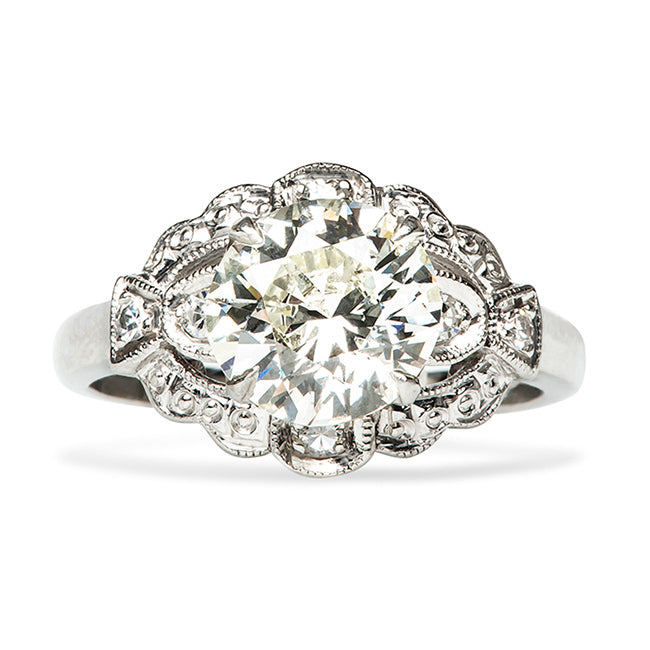 hudson vintage diamond ring