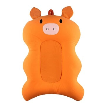Orange Baby Shower Portable Air Cushion Bed
