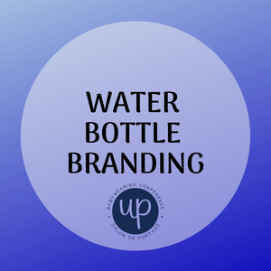 Water bottle branding