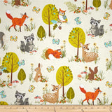 Forest Fellows Fitted Crib Sheet