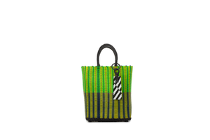 TRUSS Small Tote in Yellow/Green/Blue